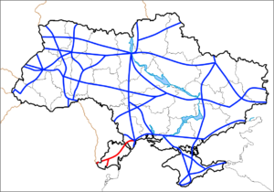 Highway M15 (Ukraine) - Image: M15 (Ukraine)