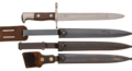 M1895 Cadet Bayonet with Three Different Scabbards.png