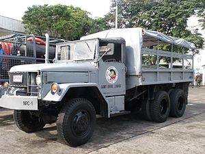 Philippine Navy Reserve Command - An M35 2 1/2 ton truck detailed with the Navy Reserve Command.