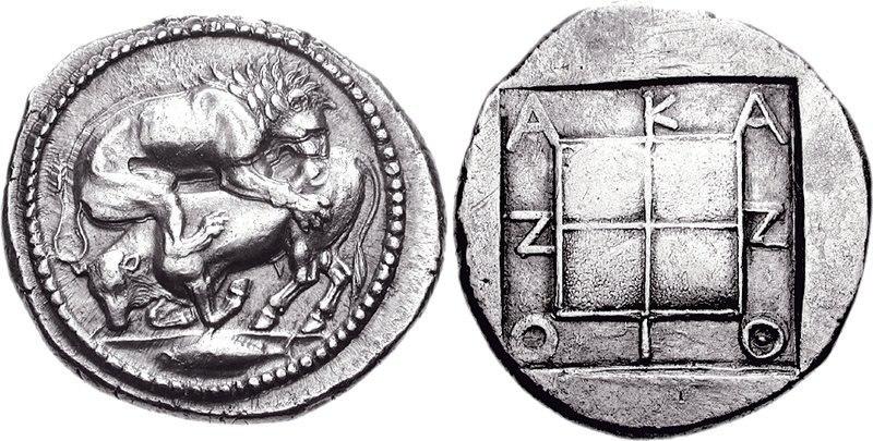 MACEDON, Akanthos. Circa 470-430 BC