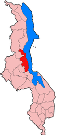 Location of Nkhotakota District in Malawi