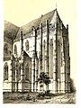 MZK 002 Nr 09 Der Elisabeth-Dom zu Kaschau in Ungarn - Tafel Choransicht.jpg