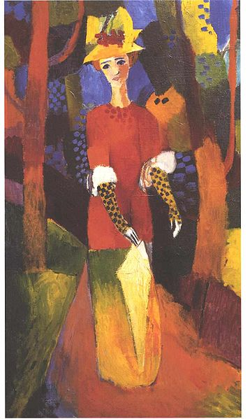 奥古斯特 麦克August Macke(德国1887-1914)作品集1 - 刘懿工作室 - 刘懿工作室 YI LIU STUDIO