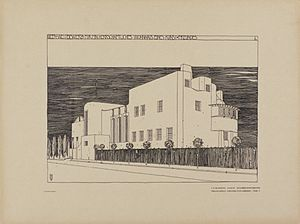 House for an Art Lover - Image: Mackintosh, House for an Art Lover, competition entry