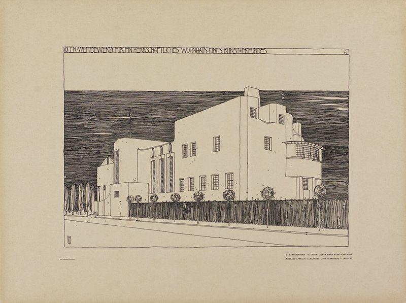 File:Mackintosh, House for an Art Lover, competition entry.jpg