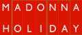 Madonna - Holiday logo.png