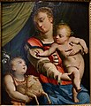 Madonna and Child with the Young Saint John the Baptist, by Luca Cambiaso, Genoa, c. 1550, oil on wood panel - Blanton Museum of Art - Austin, Texas - DSC07729.jpg