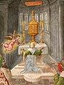 Madonna di Mongiovino - Capella di Madonna 4b Verkündigung Anna.jpg