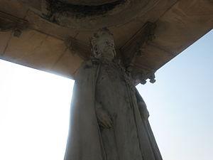Rameshwar Singh - Statue of Rameshwar Singh at Chaurangi Square Darbhanga City
