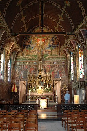 Basilica of the Holy Blood - Main altar of the Basilica of the Holy Blood.