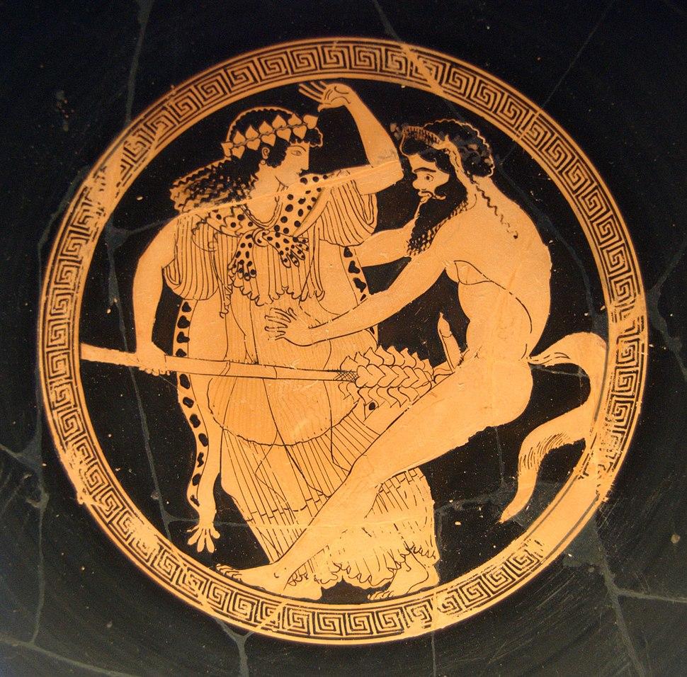 Mainade satyros Staatliche Antikensammlungen 2654