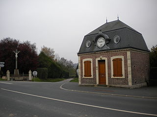 Auvillars Commune in Normandy, France
