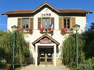 Blyes - Image: Mairie de Blyes