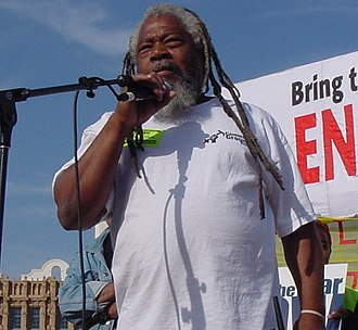 Green Party of the United States - Malik Rahim, former Black Panther Party activist, ran for Congress in 2008 with the Green Party