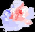 Malmö Kommunalval 2014 (Skala från rödgrönt till borgerligt).png