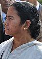 Mamata Banerjee - Kolkata 2011-12-08 7538 Cropped.JPG