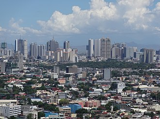 Mandaluyong - The Mandaluyong City Skyline excluding Ortigas Center.