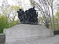 Manhattan Central park 107th New York Infantry memorial.JPG