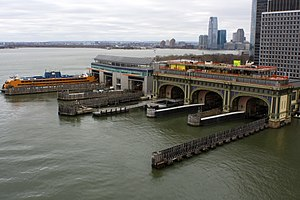 Battery Maritime Building - Image: Manhattan Island Ferry Terminals photo D Ramey Logan