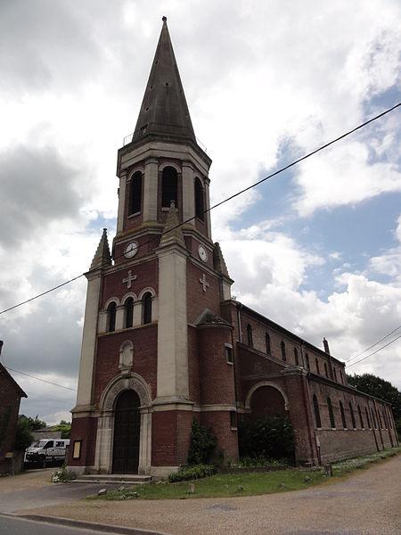 Manicamp (Aisne) église