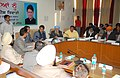 Manish Tewari presided over a meeting for District Vigilance & Monitoring Committee and reviewed the progress of various centrally sponsored schemes in the district, in Ludhiana, Punjab on January 05, 2013.jpg