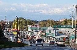 Main street (Hwy. 105)