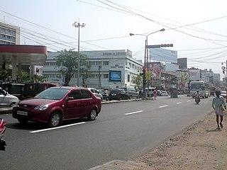 Kadavanthra Downtown-Kochi City in Kerala, India