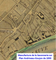 Manufacture de la Savonnerie de Chaillot sur plan de 1830.png