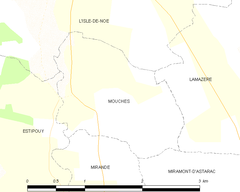 Map commune FR insee code 32293.png