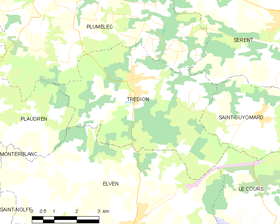 Map commune FR insee code 56254.png