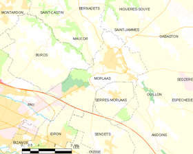 Map commune FR insee code 64405.png