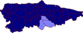 Map of Asturias highlighting Caudal (comarca).png