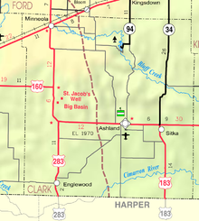 Map of Clark Co, Ks, USA.png