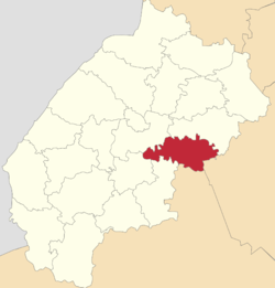 Location of Peremišļanu rajons