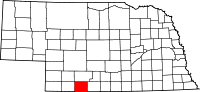 Map of Nebraska highlighting Red Willow County.svg