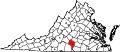 Map of Virginia highlighting Charlotte County.svg