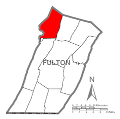 Map of Wells Township, Fulton County, Pennsylvania Highlighted.png