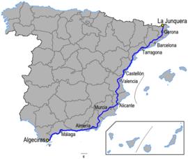 ruta valencia malaga
