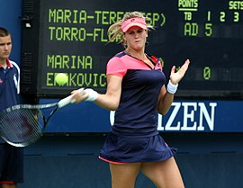 María Teresa Torró Flor at the 2013 US Open.jpg