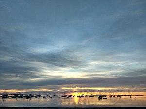 Mar Menor - Amanecer desde el paseo marítimo de Santiago de la Ribera.jpg