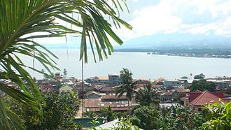 Marawi - Lake Lanao viewed from Marawi