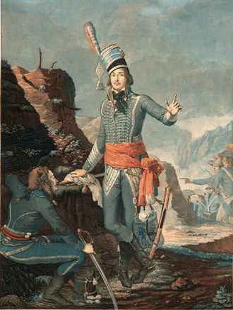 François Séverin Marceau - François Séverin Marceau-Desgraviers, by Antoine Sergent, 1798.