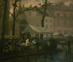 Jan Cornelis Hofman - Image: Marché Ste Catherine
