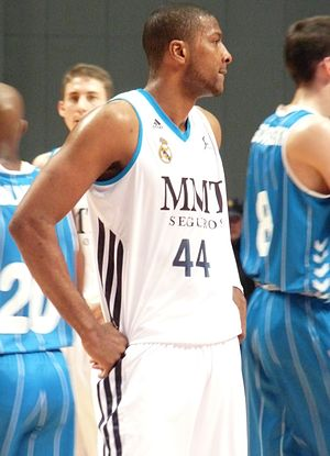 Marcus Slaughter - Slaughter with Real Madrid in March 2013.