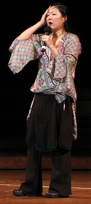 Margaret Cho - Cho doing stand-up in June 2005.