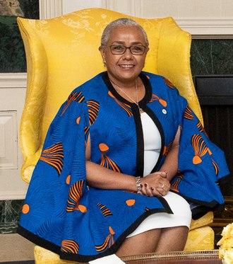 Margaret Kenyatta - Kenyatta in August 2018