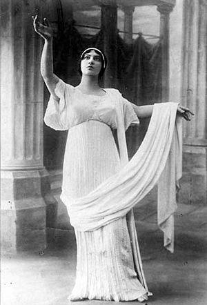 Maria Nikolaevna Kuznetsova - Maria Kuznetsova as Fausta