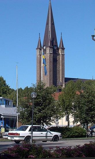 Mariestad - Mariestad Cathedral, 2003