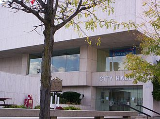 Marion, Ohio - City Hall in downtown Marion