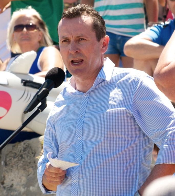 File:Mark McGowan, shark cull protest (crop).png - Wikipedia